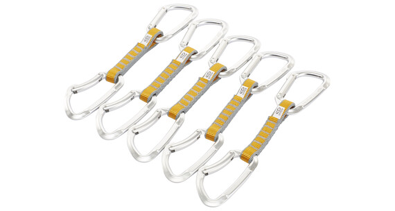 Climbing Technology Basic Set NY 5 Pcs express set 12cm oranje/zilver